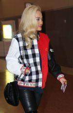 RITA ORA Arrives at McCarran International Airport in Las Vegas 05/17/2015