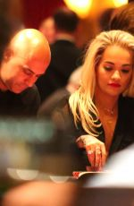 RITA ORA at a Casino in Las Vegas 05/16/2015
