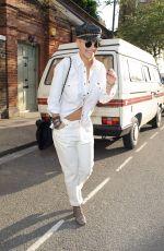 RITA ORA Leaves a Recording Studio in London 05/28/2015