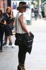 RITA ORA Leaves Her Hotel in New York 06/05/2015