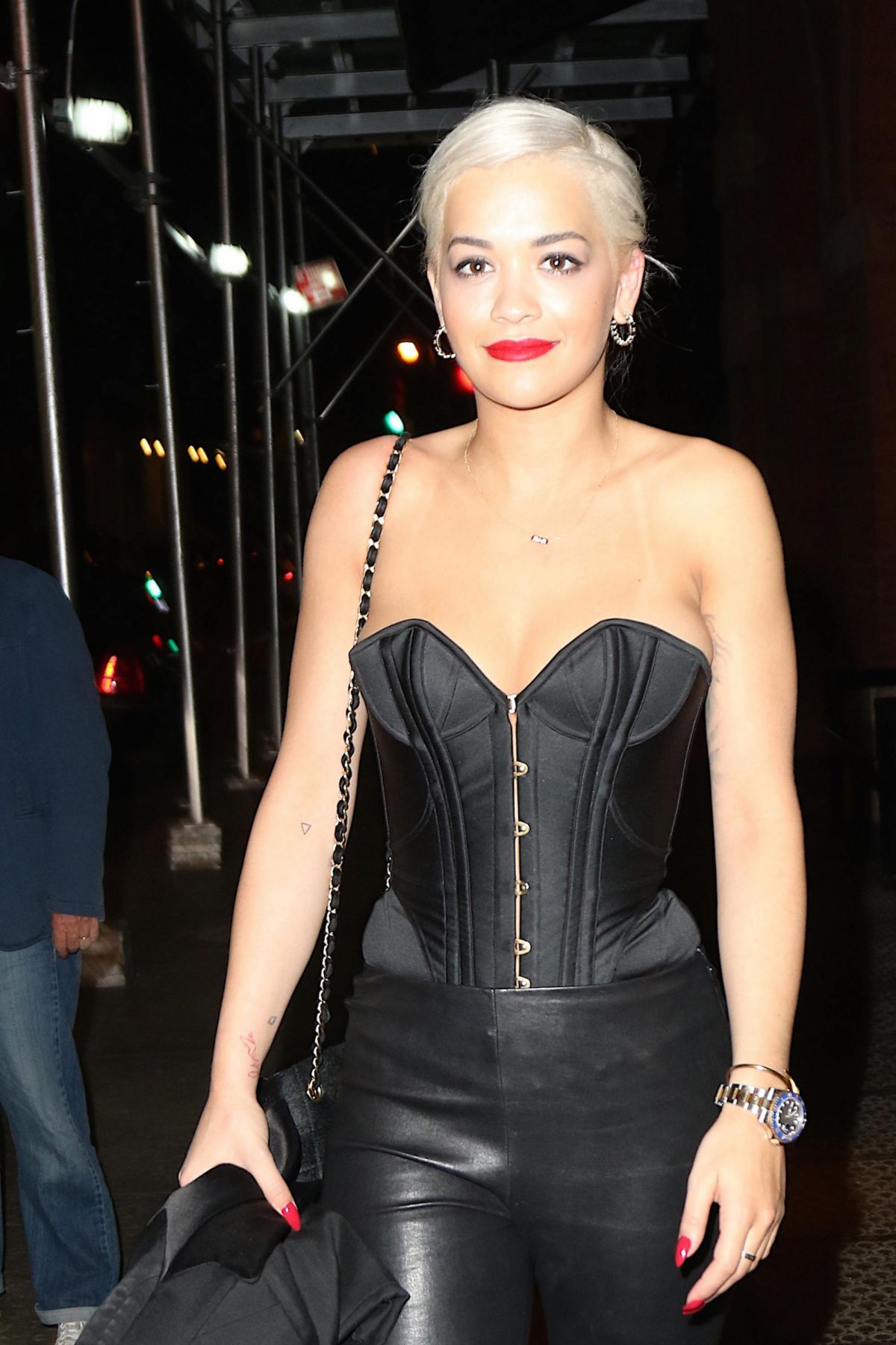RITA ORA Night Out in New York 05/05/2015