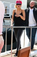 RITA ORA Out and About in Cannes 05/22/2015