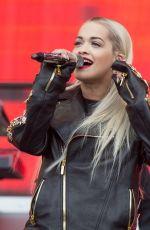 RITA ORA Performs at BBC Radio 1