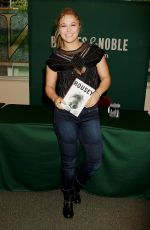 RONDA ROUSEY Signing Book at Barnes & Noble in New York 05/12/2015