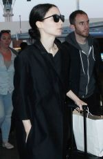 ROONEY MARA Arrives at LAX Airport in Los Angeles 05/15/2015