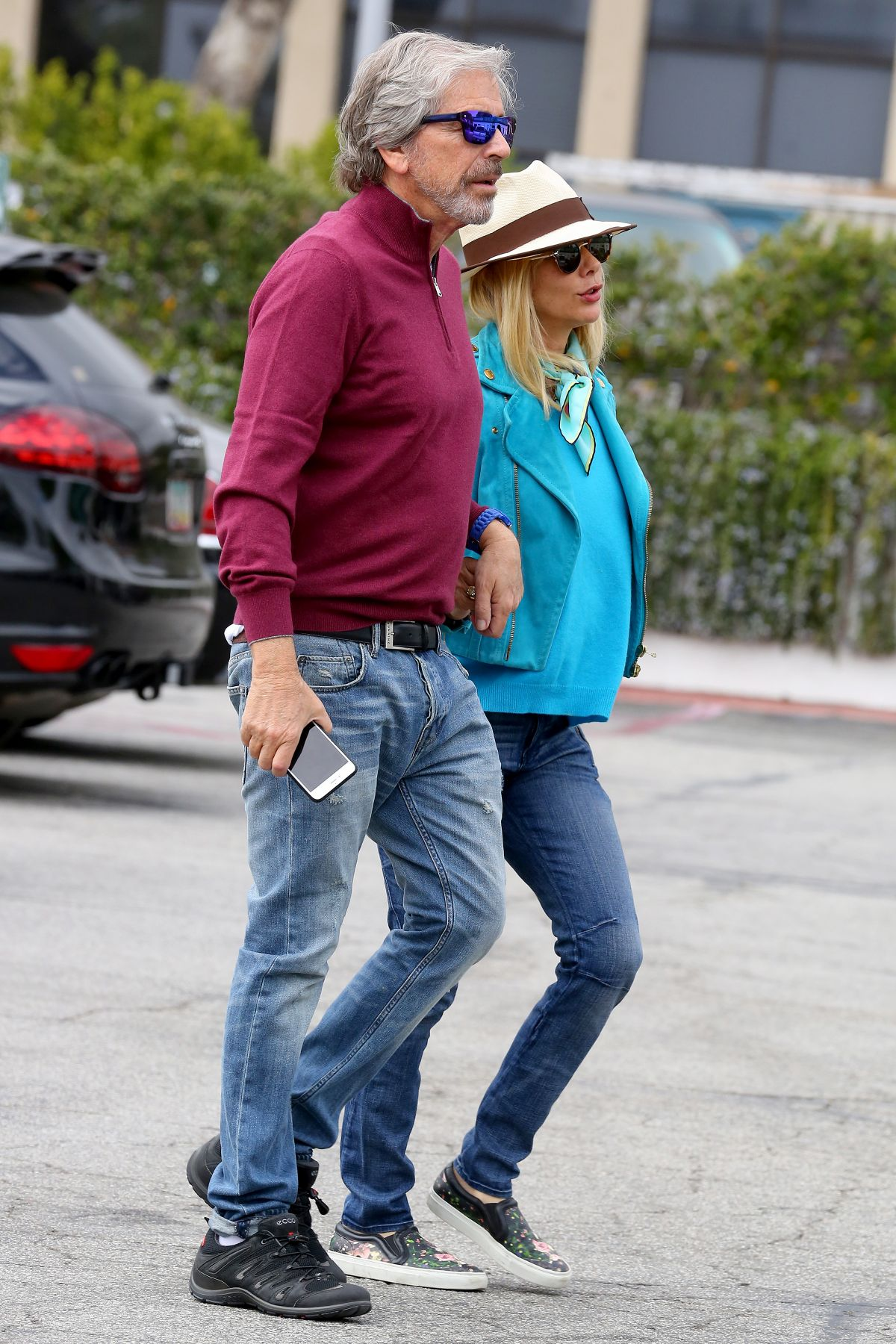 ROSANNA ARQUETTE Out and About in Malibu