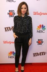 ROSE BYRNE at Red Nose Day Charity Event in New York