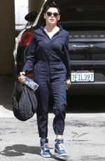 ROSE MCGOWAN Out and About in Los Angeles 04/30/2015