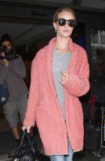 ROSIE HUNTINGTON-WHITELEY at Los Angeles International Airport 05/05/2015