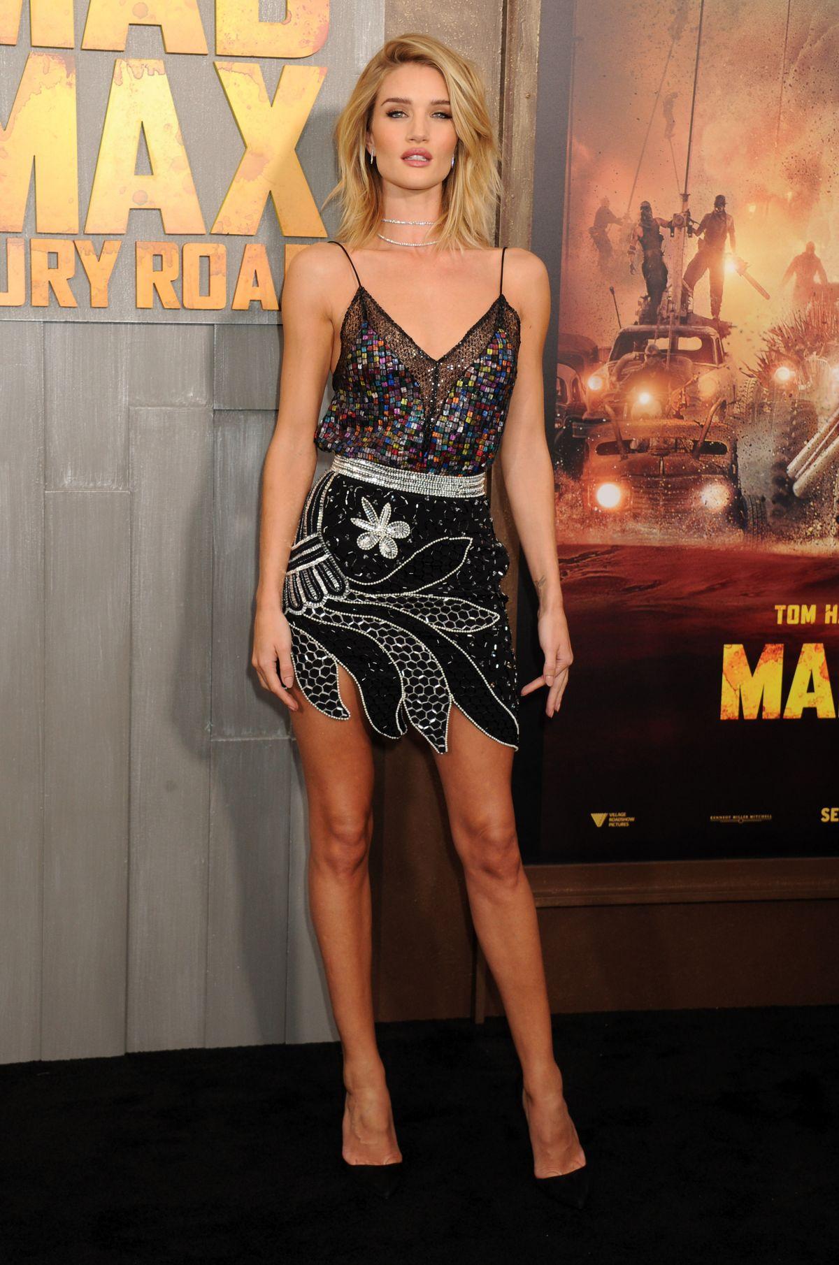 Rosie Huntington Whiteley At Mad Max Fury Road Premiere