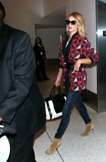 ROSIE HUNTINGTON-WHITELEY Back at LAX Airport in Los Angele 05/14/2015