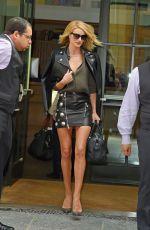 ROSIE HUNTINGTON-WHITELEY Leaves Her Hotel in New York 05/13/2015