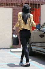 RUMER WILLIS Arrives at DWTS Rehearsal Studio in Hollywood 05/27/2015