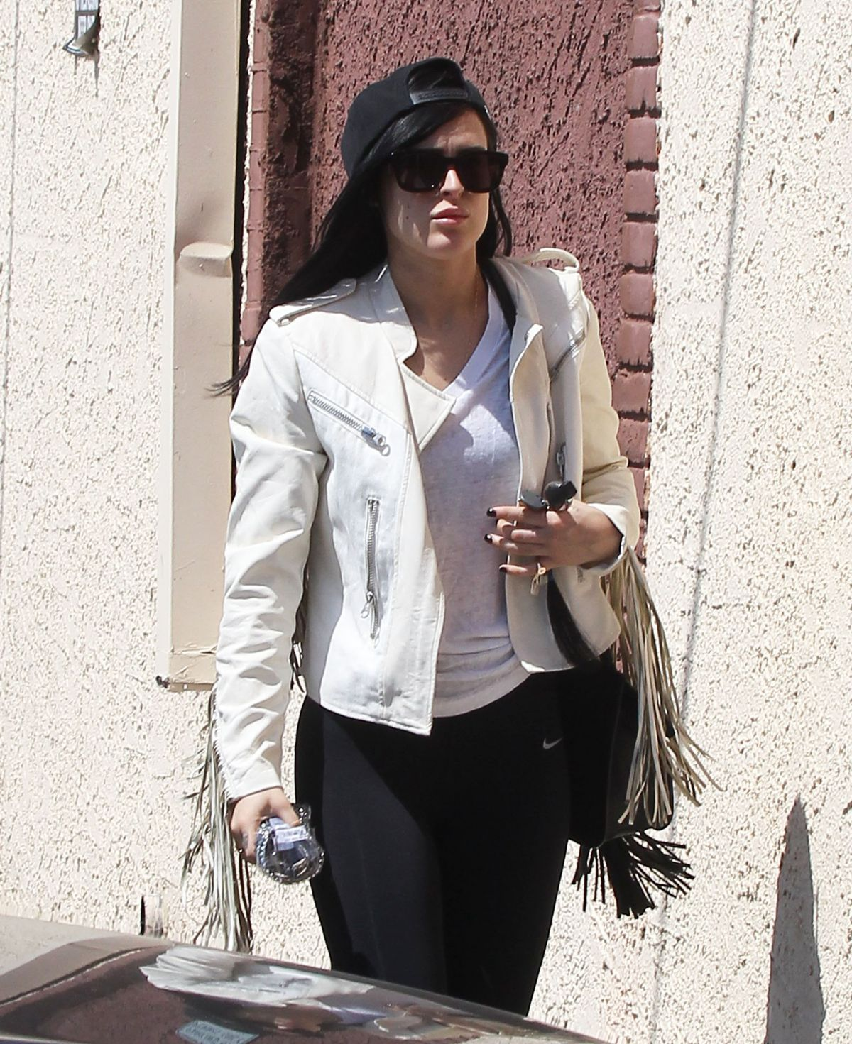 RUMER WILLIS Arrives at DWTS Rehearsal Studio in Hollywood 05/30/2015