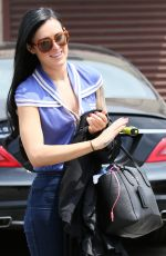 RUMER WILLIS Arrives at DWTS Rehearsals in Hollywood 05/09/2015