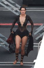 RUMER WILLIS at DWTS Finale in Hollywood
