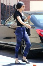 RUMER WILLIS at DWTS Studio in West Hollywood 04/28/2015