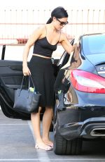 RUMER WILLIS Leaves DWTS Rehersal in Hollywood