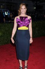 RUTH WILSON at MET Gala 2015 in New York