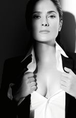 SALMA HAYEK at Madame Figaro Magazine, May 2015 Issue