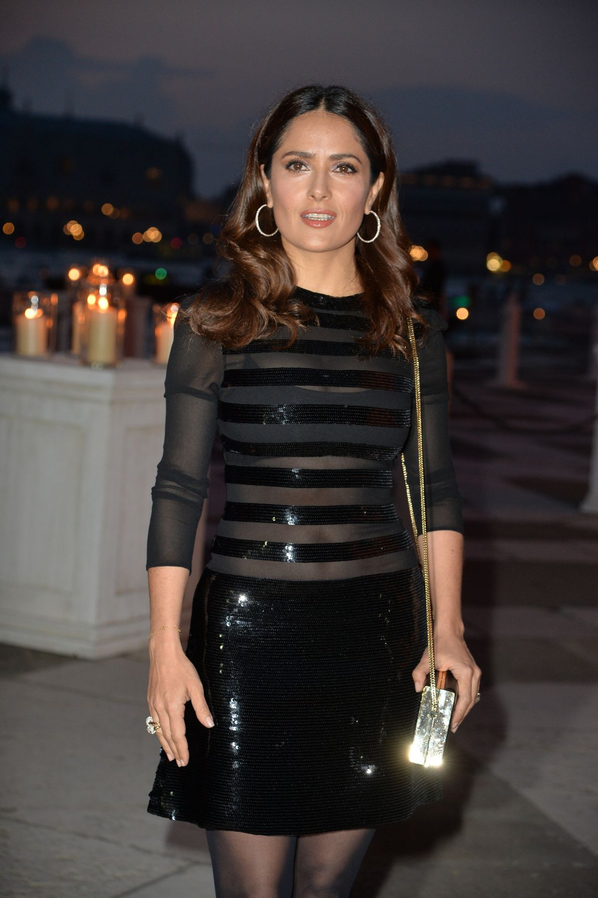 SALMA HAYEK at Pinault Party at 56th International Art Exhibition in Venice