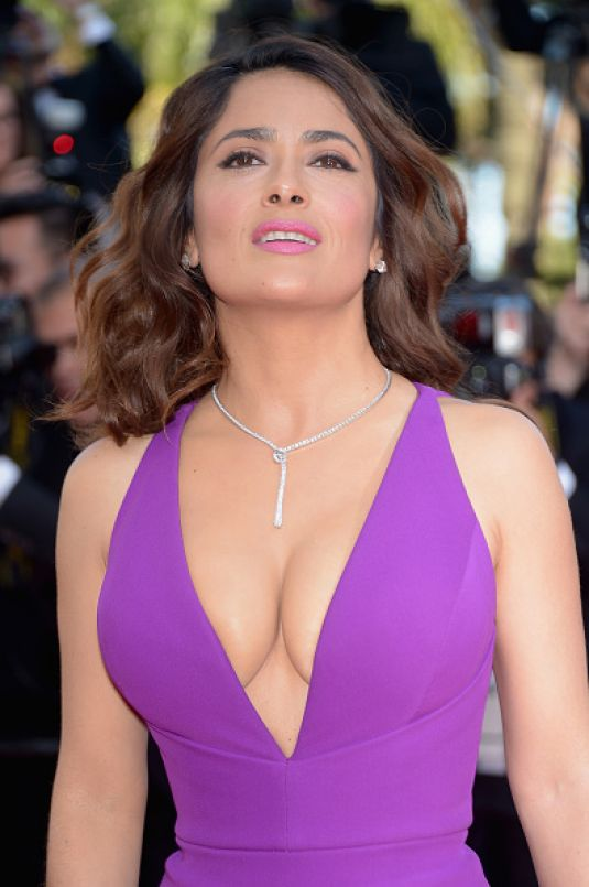 SALMA HAYEK at Rocco and His Brothers Premiere at Cannes Film Festival