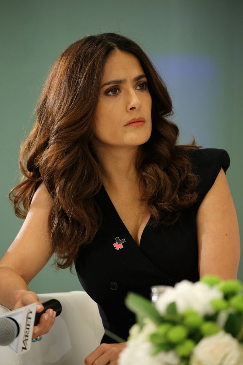SALMA HAYEK at Variety Panel Discussion on Gender Wquality in Cannes
