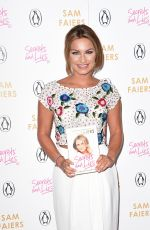 SAM FAIERS at Secrets & Lies: The Truth Behind the Headlines Book Launch in London