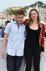 SARA FORESTIER at La Tete Haute Photocall at 2015 Cannes Film Festival