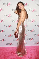 SARA SAMPAIO at Breast Cancer Research Foundation Hot Pink Party in New York