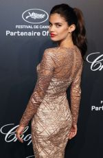 SARA SAMPAIO at Soiree Chopard Gold Party in Cannes