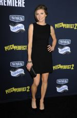 SARAH CHALKE at Pitch Perfect 2 Premiere in Los Angeles