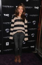 SARAH HYLAND at THQ Launch of Saints Row the Third Video Game in Hollywood