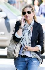 SARAH MICHELLE GELLAR in ipped Jeans Out in Beverly Hills 05/05/2015