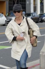 SARAH MICHELLE GELLAR Out and About in Santa Monica 05/14/2015