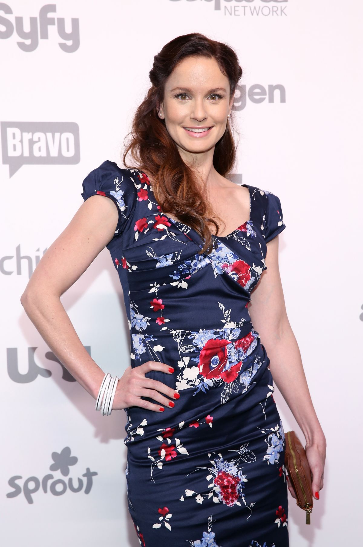 SARAH WAYNE CALLIES at 2015 NBC/Universal Cable Entertainment Upfront in New York
