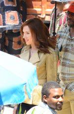 SCARLETT JOHANSSON on the Set of Captain America: Civil War in Atlanta 05/20/2015