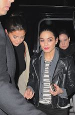 SELENA GOMEZ and VANESSA HUDGENS at Neil Simon Theatre in New York 05/02/2015