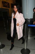 SELENA GOMEZ Arrives at Los Angeles international Airport 05/11/2015