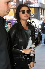 SELENA GOMEZ at Church in Times Square