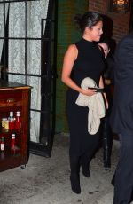 SELENA GOMEZ at Gemma Restaurant in New York