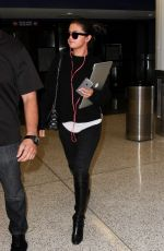 SELENA GOMEZ at LAX Airport in Los Angeles 05/05/2015