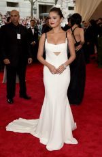 SELENA GOMEZ at MET Gala 2015 in New York