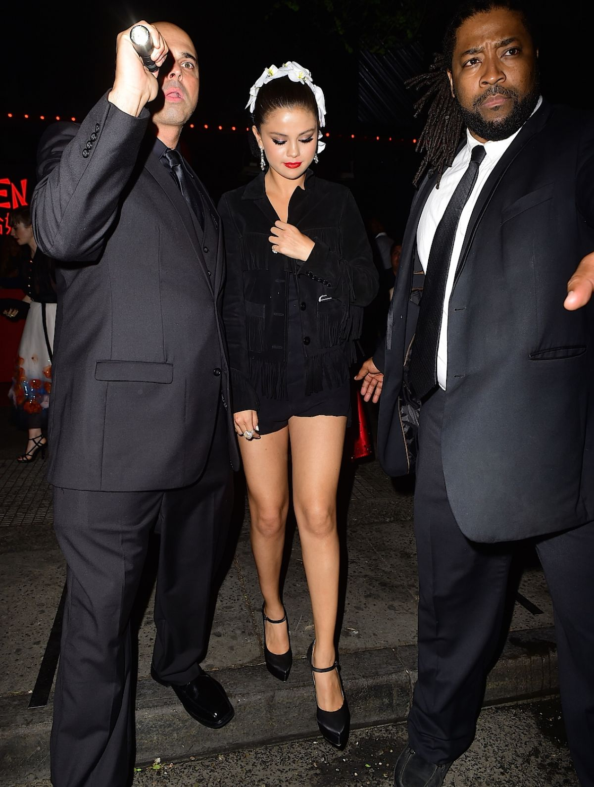 SELENA GOMEZ at MET Gala After Party in New York