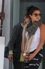 SELENA GOMEZ Leaves Mr.Chow in Beverly Hills 05/28/2015