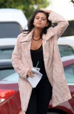 SELENA GOMEZ on the Set of The Big Short in New Orleans