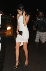 SHANINA SHAIK Leaves a Nightclub in Manhattan