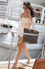 SHANINA SHAIK Leaves a Yacht in Cannes 05/21/2015