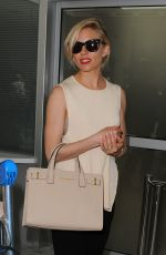 SIENNA MILLER Arrives at Airport in Nice 05/12/2015