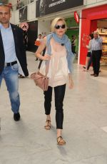 SIENNA MILLER at Airport in Nice 05/25/2015